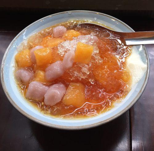 日本で美味しい芋圓豆花~有夏茶房~